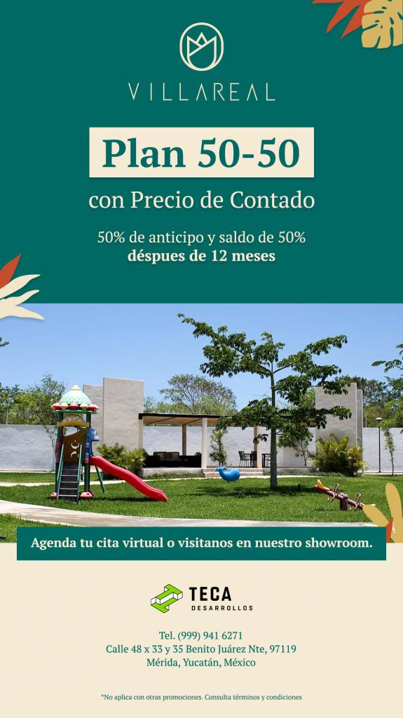 Promoción VillaReal 50% - 50%